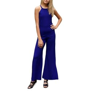 Sally Miller Couture Jenny Jumpsuit in sapphire